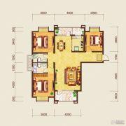 保利达翠堤湾二期3室2厅2卫0平方米户型图