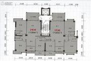 海悦名庭3室2厅0卫128平方米户型图