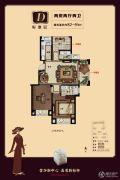 巨龙紫金玉澜2室2厅2卫82--91平方米户型图