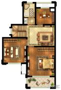 中粮鸿云4室2厅2卫101平方米户型图