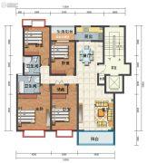 海东城4室2厅2卫155--160平方米户型图