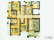 水绘绿源4室2厅2卫161平方米户型图