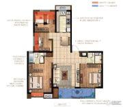 中交锦致4室2厅2卫127平方米户型图