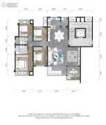 龙湖景粼玖序4室2厅2卫131平方米户型图