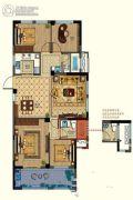 恒威肯特国际社区4室2厅2卫110平方米户型图