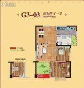 人信・假日威尼斯2室2厅1卫95平方米户型图