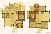 合生东郊别墅1074--1094平方米户型图