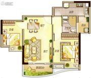 万科里享水韵2室2厅1卫79平方米户型图