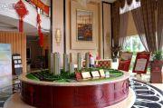 红豆香江豪庭沙盘图