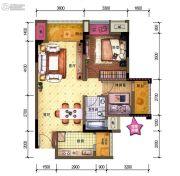 中昂星汇1室1厅0卫0平方米户型图
