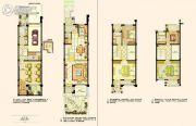 阿维侬庄园3室2厅3卫288平方米户型图