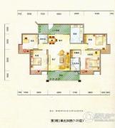 德昌盛景4室2厅2卫139平方米户型图