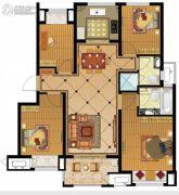 金地名悦4室2厅2卫112平方米户型图