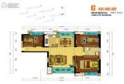 盘龙理想城3室2厅0卫107平方米户型图
