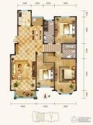 锦麟3室2厅2卫170平方米户型图