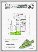 水云间3室2厅2卫139平方米户型图