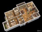 燕南山庐3室2厅2卫133平方米户型图