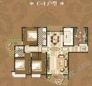 禹州御湖湾4室2厅2卫211平方米户型图