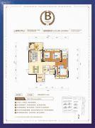 珠江・愉景新城3室2厅2卫0平方米户型图