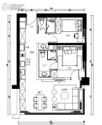 金融街・巽寮湾2室2厅2卫0平方米户型图