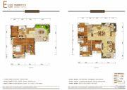 华润国际社区4室2厅3卫0平方米户型图
