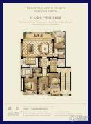 时代滨江4室2厅2卫170平方米户型图