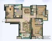 雅居乐・涟山3室2厅2卫121平方米户型图