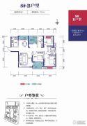 金威・英伦世家3室2厅2卫127平方米户型图