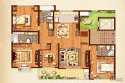 荣记玖珑湾4室2厅3卫178平方米户型图