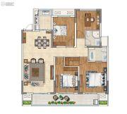 苏州绿城春江明月4室2厅2卫132平方米户型图