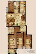 河岸首府4室2厅2卫149平方米户型图