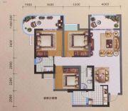 宏源领地3室2厅2卫109平方米户型图