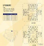 萝岗敏捷广场3室2厅3卫79--102平方米户型图