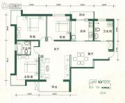 金汇广场3室2厅1卫147--148平方米户型图