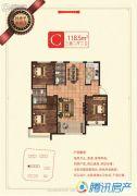 荣盛・锦绣兰庭3室2厅2卫0平方米户型图