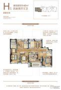 绿地林肯公园4室2厅3卫0平方米户型图