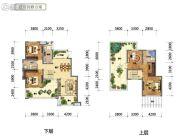 国鑫凤垭山4室2厅2卫136平方米户型图