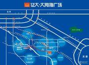 大拇指广场交通图