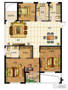 一品星泽湾3室2厅2卫131平方米户型图