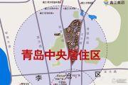 鑫江水青花都交通图