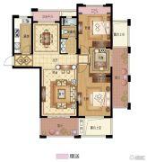 永成天御湾3室2厅1卫121平方米户型图