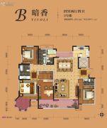 �|方米兰国际城4室2厅4卫209平方米户型图