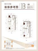 思朗广场2室2厅2卫0平方米户型图