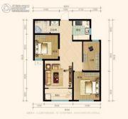 兰田传奇3室1厅2卫90平方米户型图