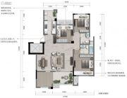重庆・阳光城3室2厅2卫88--103平方米户型图