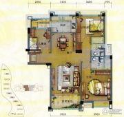 淄博碧桂园3室2厅2卫140平方米户型图