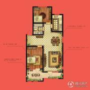水静界2室2厅1卫103平方米户型图
