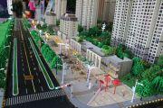 建业新城沙盘图