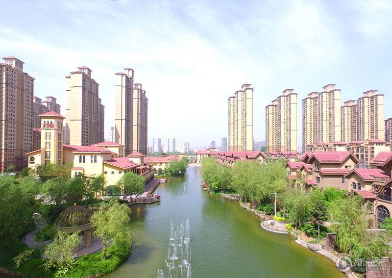华强城外景图
