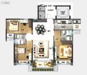 中山碧桂园天玺湾3室2厅2卫106平方米户型图